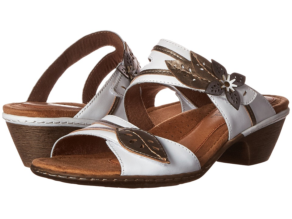 Rockport Cobb Hill Collection Cobb Hill Vivian (White Multi) Women