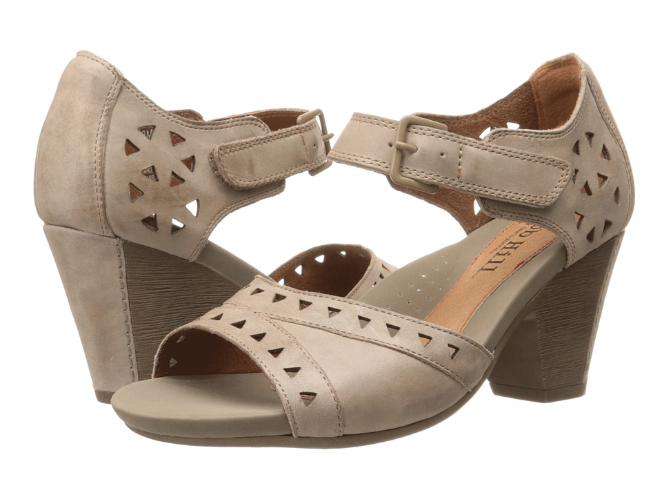 Rockport Cobb Hill Collection - Cobb Hill Trista (Taupe) Women's 1-2 inch heel Shoes