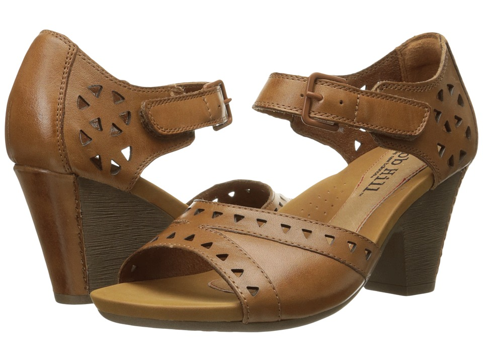 Rockport Cobb Hill Collection - Cobb Hill Trista (Tan) Women's 1-2 inch heel Shoes