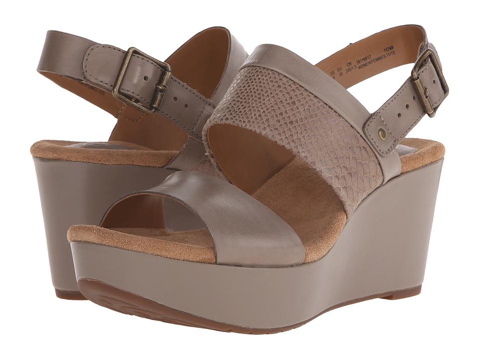 Clarks - Caslynn Kat (Sage Combi) Women's Wedge Shoes