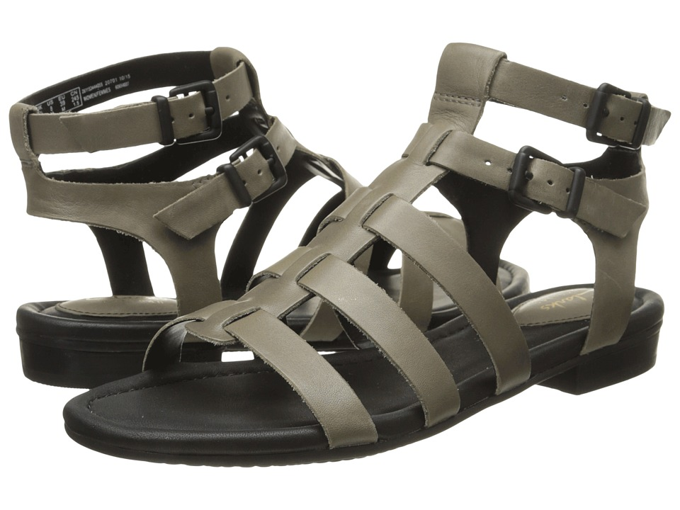 Clarks - Viveca Myth (Sage Leather) Women's Sandals