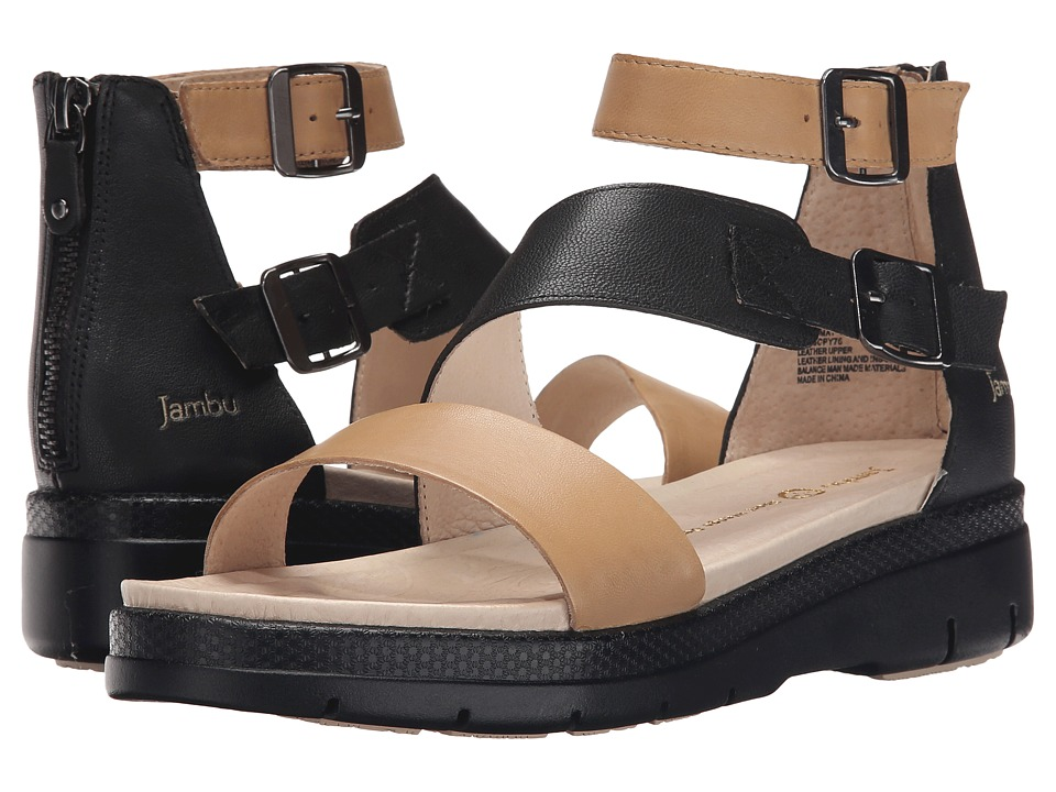 Jambu - Cape May (Nude/Black) Women's Shoes