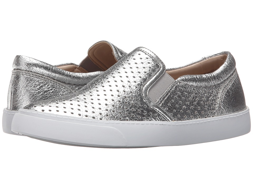 Clarks - Glove Puppet (Silver Leather) Women's Shoes