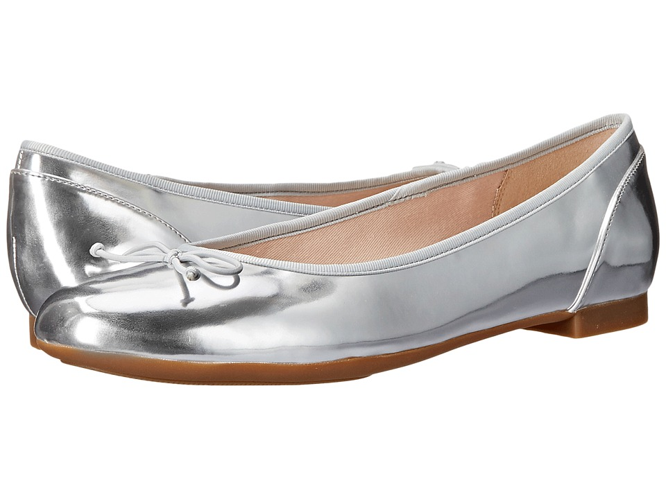 Clarks - Couture Bloom (Silver) Women's Flat Shoes
