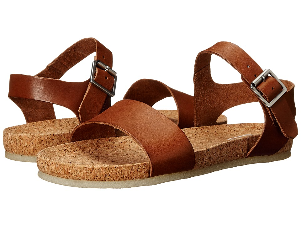 Clarks - Dusty Soul (Dark Tan Leather) Women's Sandals