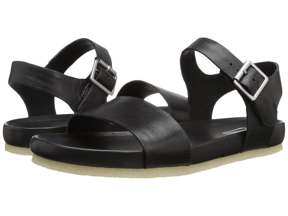 Clarks - Dusty Soul (Black Leather) Women's Sandals