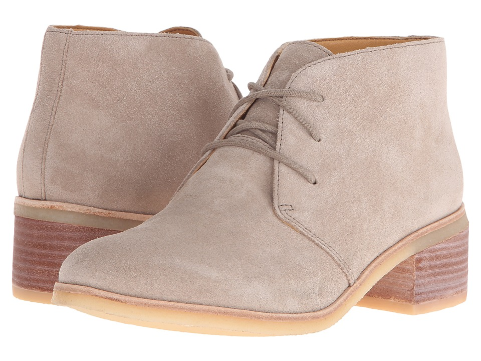 Clarks - Phenia Carnaby (Sand Suede) Women's Lace-up Boots