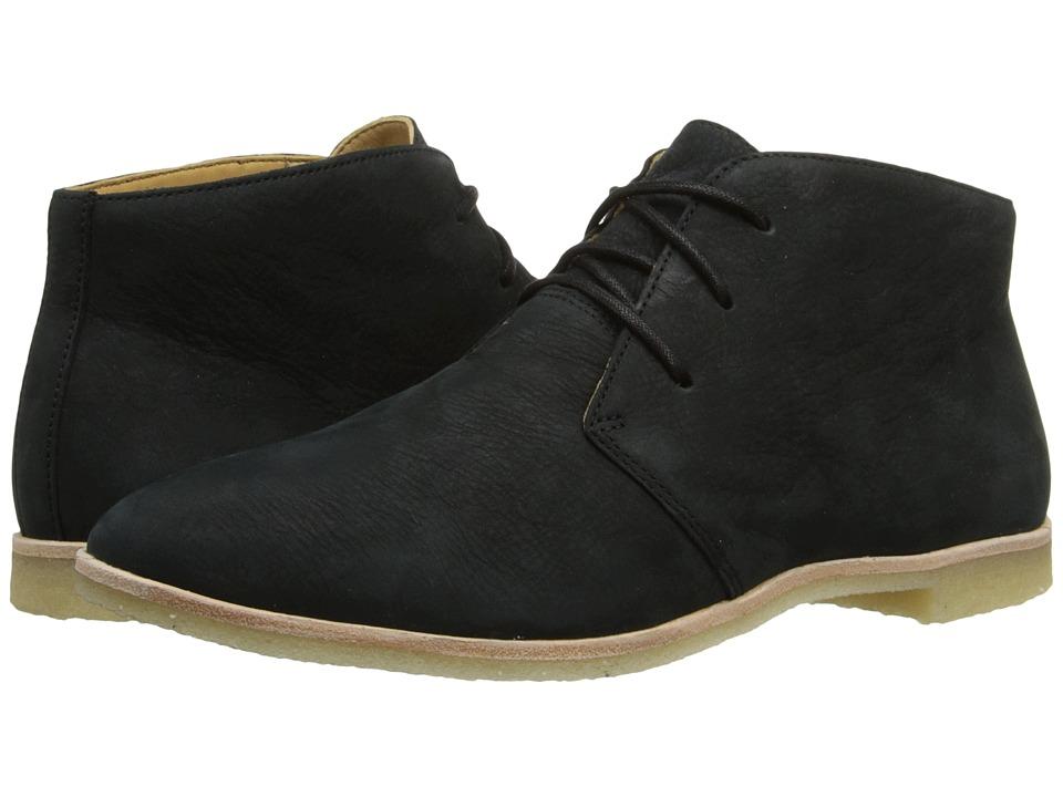 Clarks - Phenia Desert (Black Nubuck) Women's Lace-up Boots