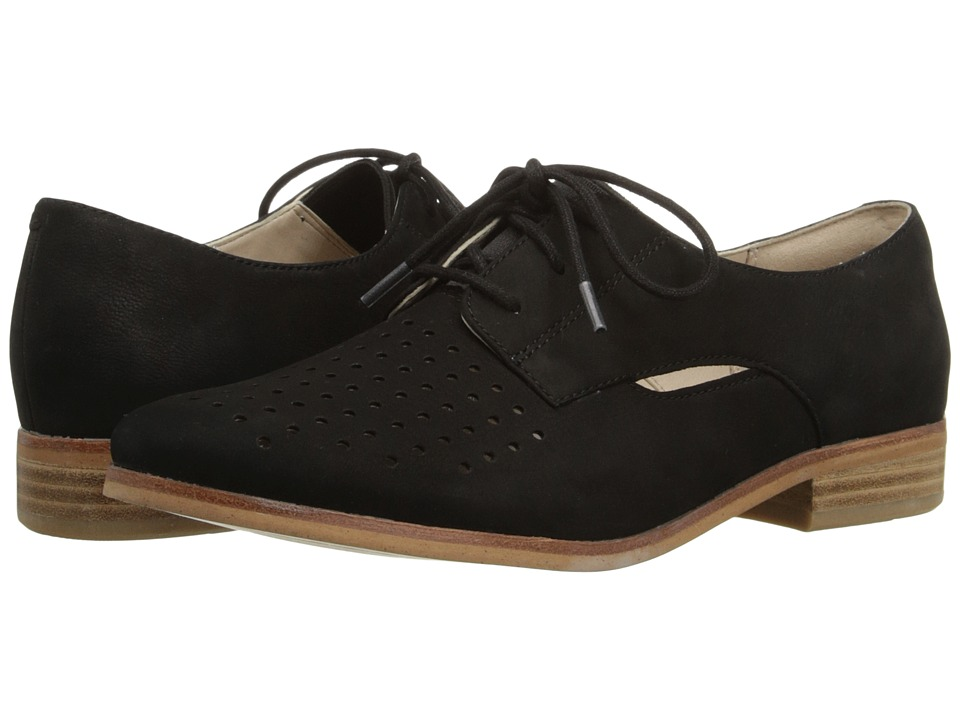 Clarks - Hotel Molly (Black Nubuck) Women's Lace up casual Shoes