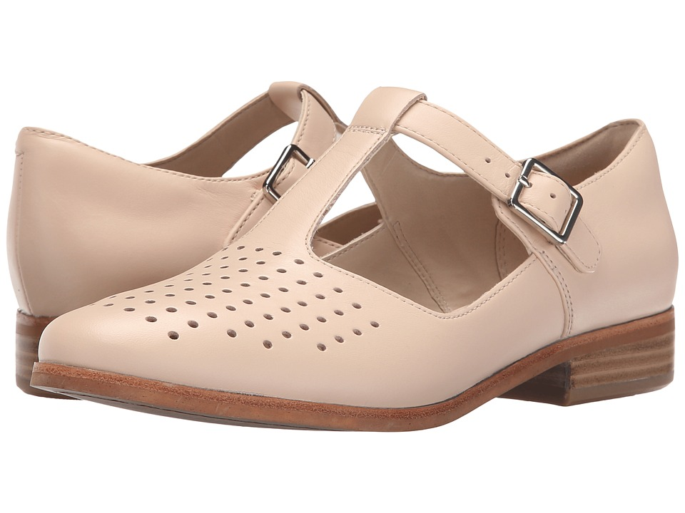 Clarks - Hotel Vibe (Nude Pink Leather) Women's 1-2 inch heel Shoes