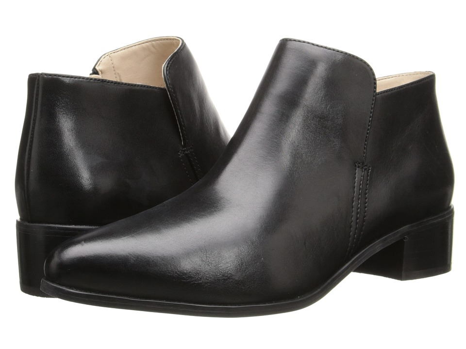 Clarks - Marlina Revel (Black Leather) Women's 1-2 inch heel Shoes