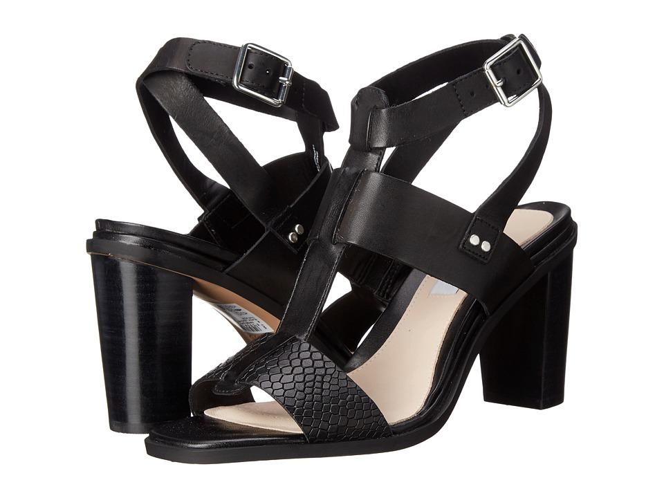 Clarks - Image Crush (Black Leather) High Heels