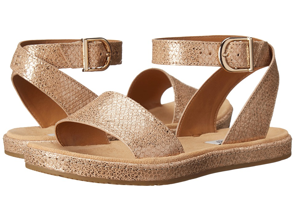 Clarks - Romantic Moon (Champagne Metallic) Women's Sandals