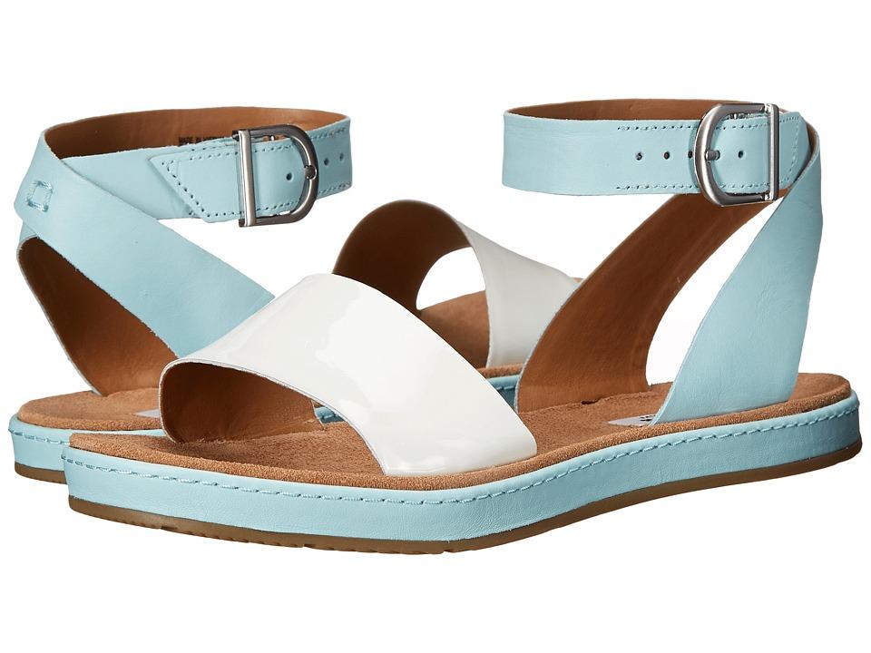 Clarks - Romantic Moon (Light Blue) Women's Sandals