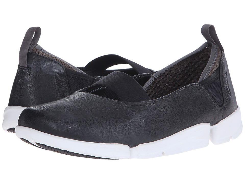 Clarks - Tri Step (Black Leather) Women
