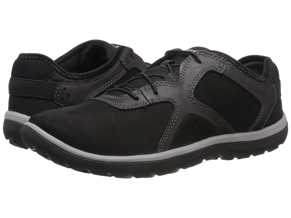 Clarks - Aria Lace (Black Leather) Women's Lace up casual Shoes