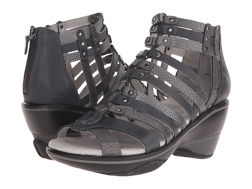 Jambu - Sugar - Metallic (Charcoal/Gunmetal) Women