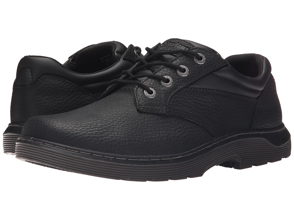 Dr. Martens Work - Prestige (Black Pitstop) Men's Lace up casual Shoes
