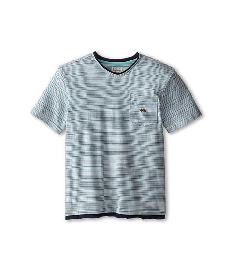 Lucky Brand Kids - Bearing Raw Edges Tee (Big Kids) (Turtledove) Boy's T Shirt