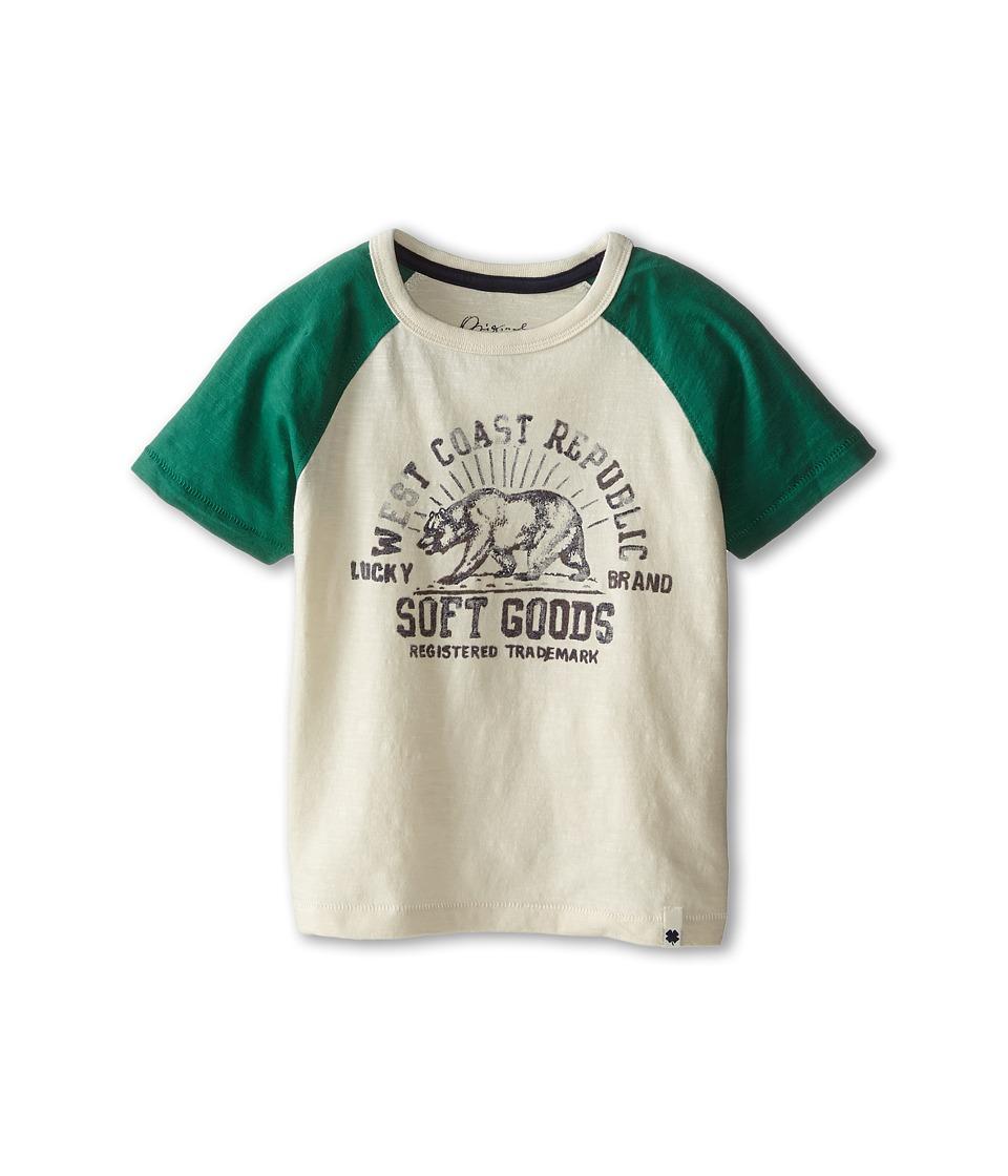 Lucky Brand Kids - Brand Republic Tee (Little Kids/Big Kids) (Turtledove) Boy