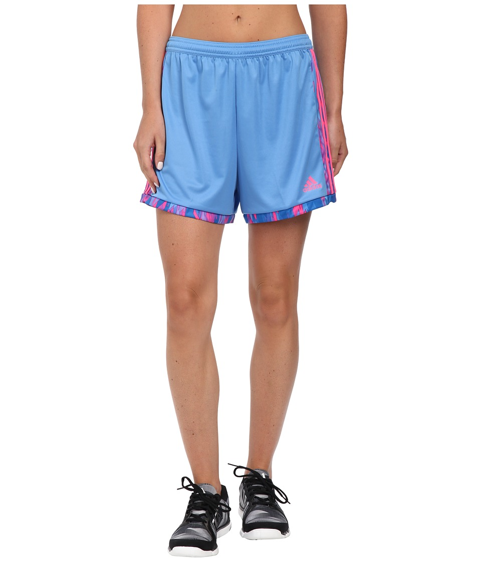 adidas - Tastigo 15+ Shorts (Lucky Blue/Solar Pink) Women's Shorts