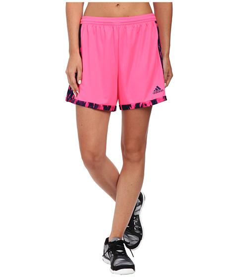 adidas - Tastigo 15+ Shorts (Solar Pink/Night Sky Grey) Women's Shorts
