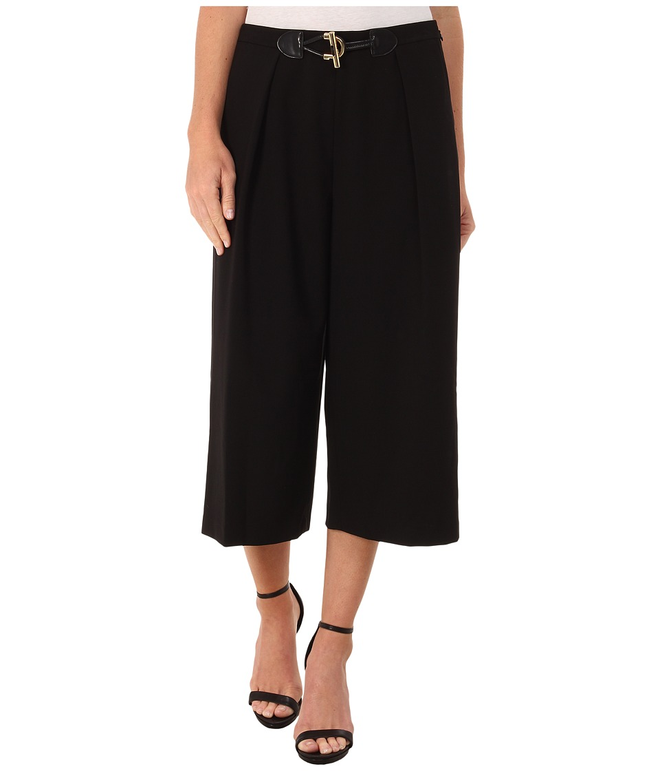 Calvin Klein - Culotte w/ Large Toggle (Black) Women's Clothing