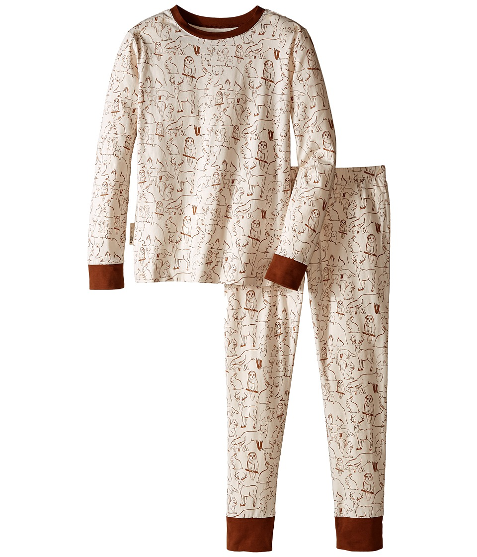 UGG Kids - Rascal Pj Set (Little Kids/Big Kids) (Sugar Pine) Boy's Pajama Sets