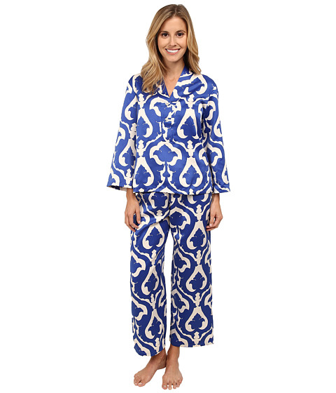 N by Natori - Tapestry PJ Set (Deco Blue) Women