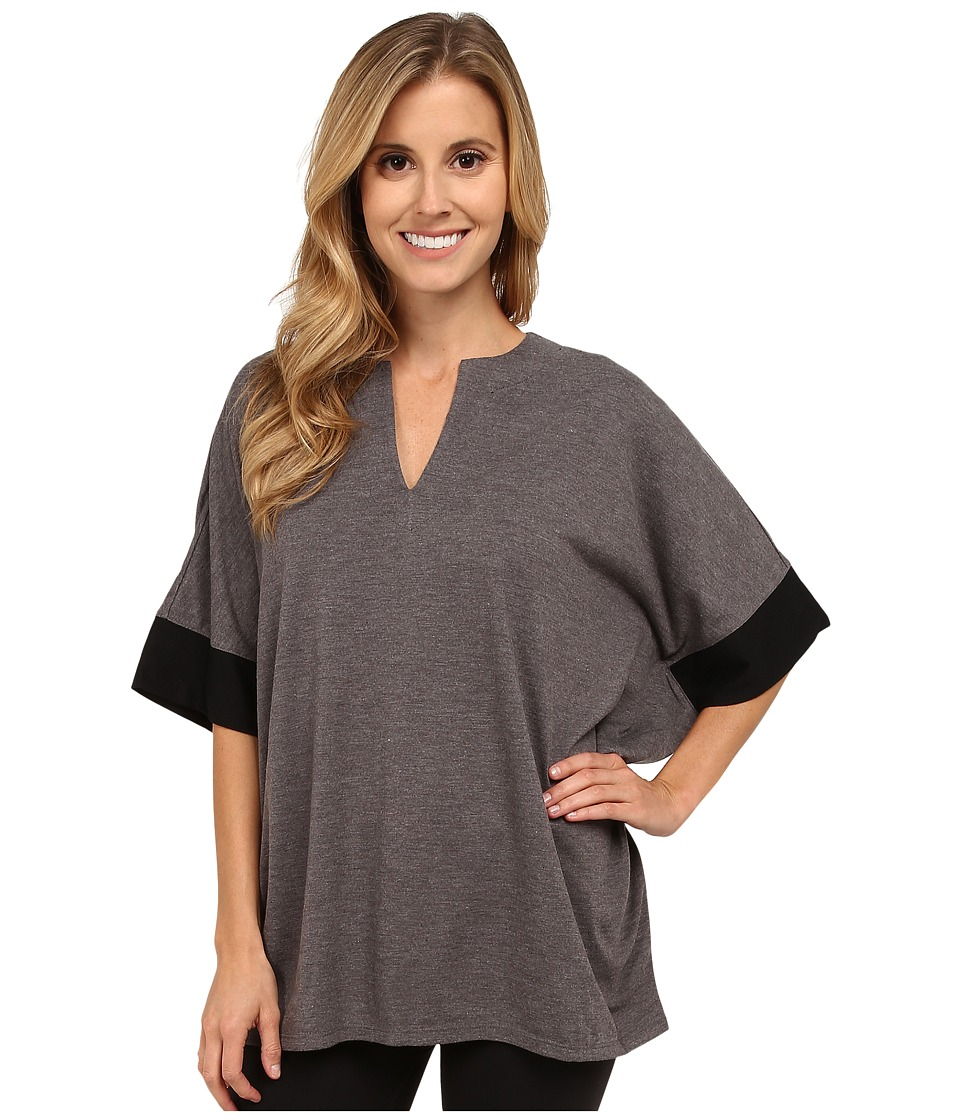 N by Natori - N Natori Tunic Top (Heather Grey) Women