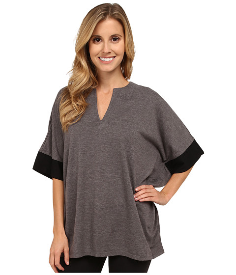 N by Natori - N Natori Tunic Top (Heather Grey) Women's Pajama