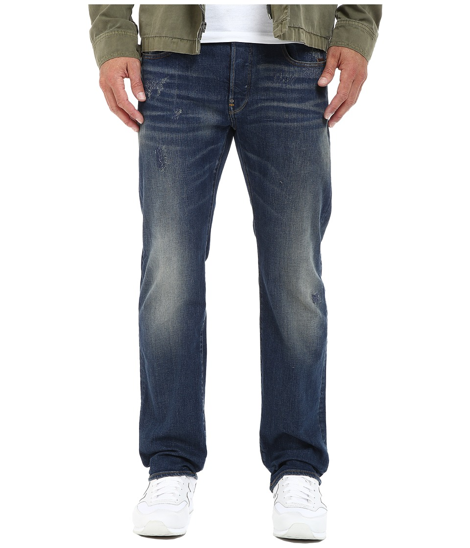 G-Star - Revend Straight Fit Jeans in Iros Stretch Denim Dark Aged Restored (Iros Stretch Denim Dark Aged Restored) Men's Jeans
