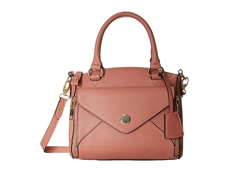 London Fog - Fenwick Satchel (Coral) Satchel Handbags
