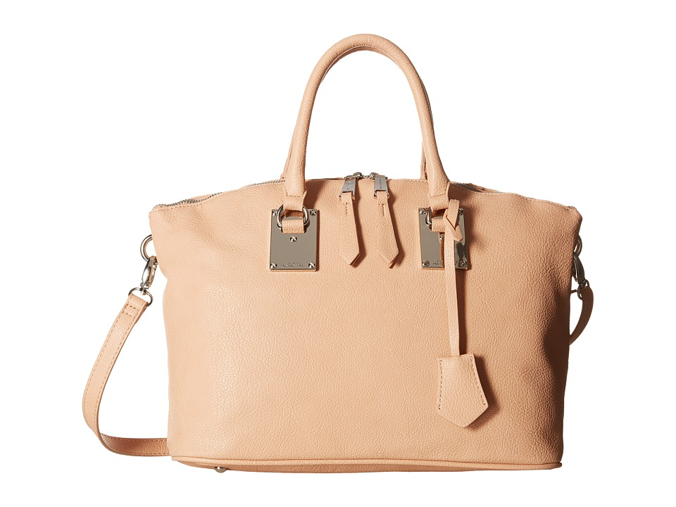 London Fog - Smithfield Satchel (Peach) Satchel Handbags