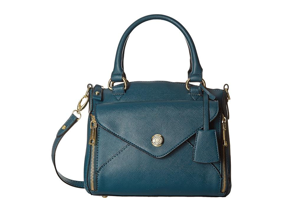 64 99 More Details London Fog Fenwick Satchel Mallard Handbags