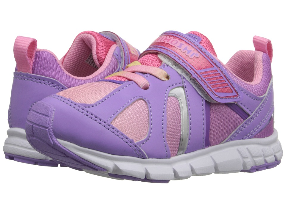 Tsukihoshi Kids - Rainbow (Toddler/Little Kid) (Lavender/Coral) Girls Shoes