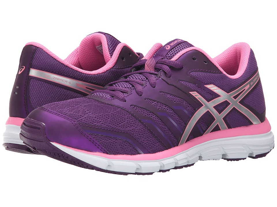 ASICS - Gel-Zaraca 4 (Purple/Silver/Flamingo) Women