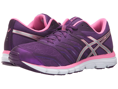 ASICS - Gel-Zaraca 4 (Purple/Silver/Flamingo) Women's Shoes