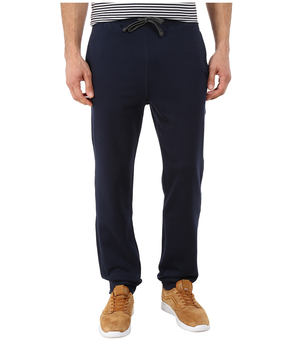 Nautica - Knit Pants w/ Rib Cuff (Navy) Men's Casual Pants