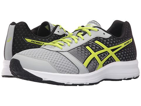 ASICS - Patriot 8 (Silver Grey/Lime/Black) Men's Shoes