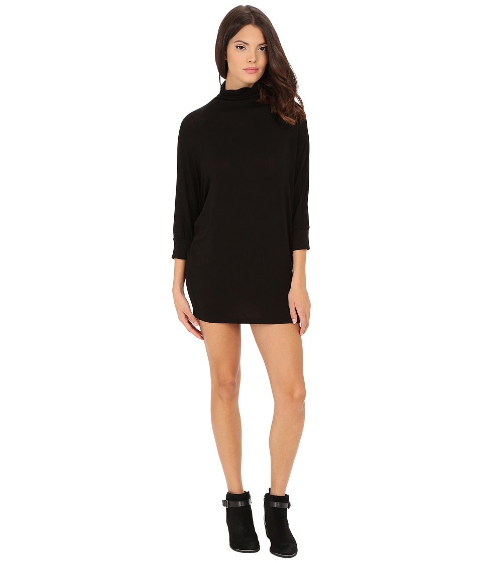 Velvet by Graham & Spencer - Shaylen Turtleneck Dress (Black) Women's Dress