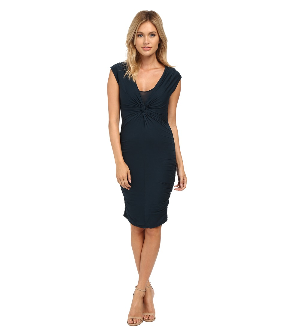 Velvet by Graham & Spencer - Theron Cap Sleeve Dress (Marina) Women's Dress