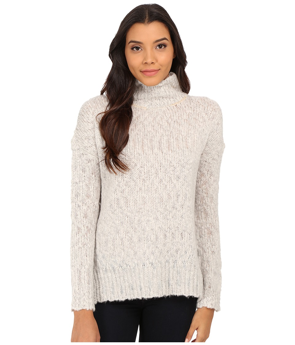 Velvet by Graham & Spencer - Monalisa Long Sleeve Turtleneck Top (Winter) Women's Clothing
