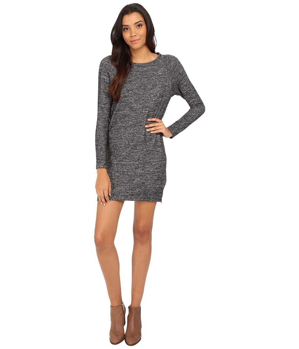 Velvet by Graham & Spencer - Sena Long Sleeve Side Zip Dress (Marled) Women's Dress