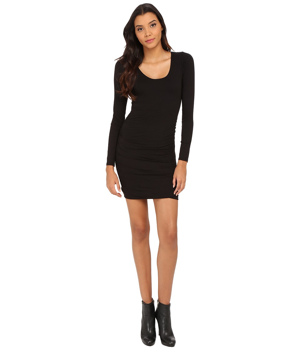 Velvet by Graham & Spencer - Shayla Scoop Neck Dress (Black) Women's Dress