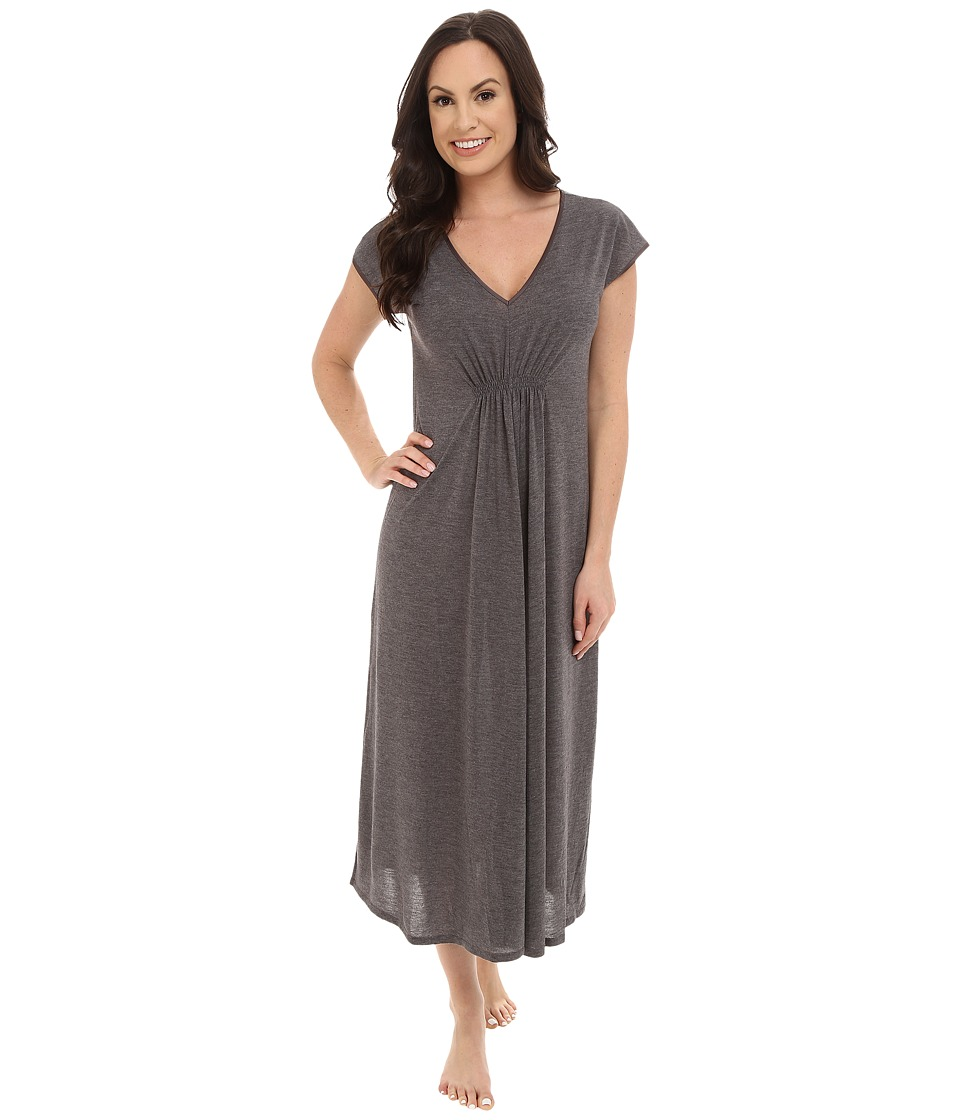 N by Natori - N Natori Gown 52 (Heather Grey) Women's Pajama