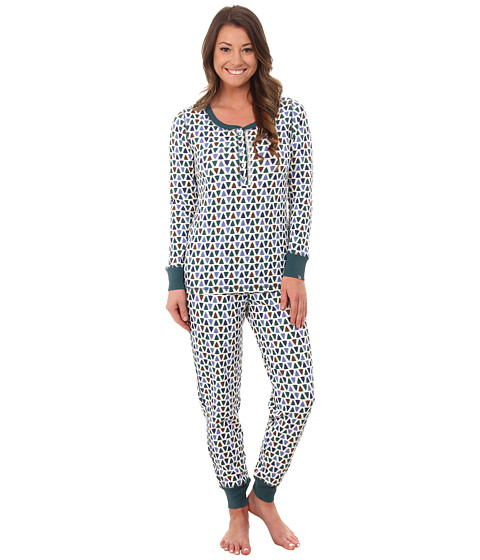Jane & Bleecker - Packaged Thermals 3591061F (In the Forest) Women's Pajama Sets