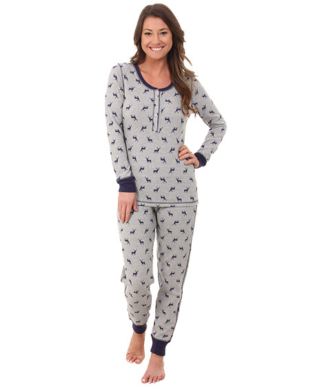 Jane & Bleecker - Packaged Thermals 3591061F (Deer in the Distance) Women