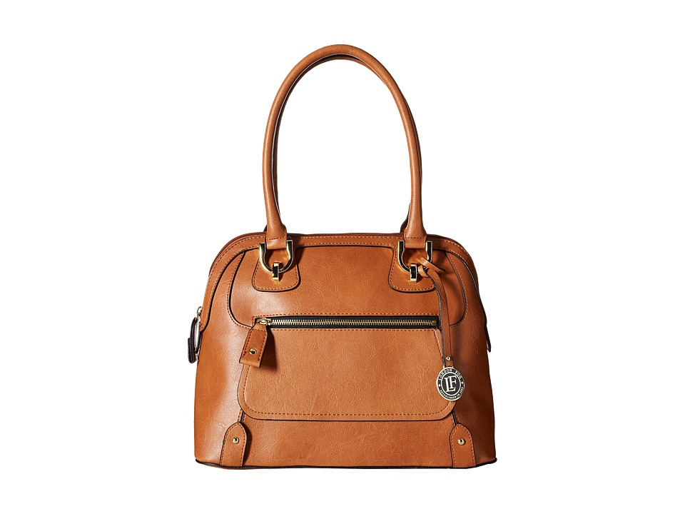 London Fog - Knightsbridge Dome (Cognac) Handbags