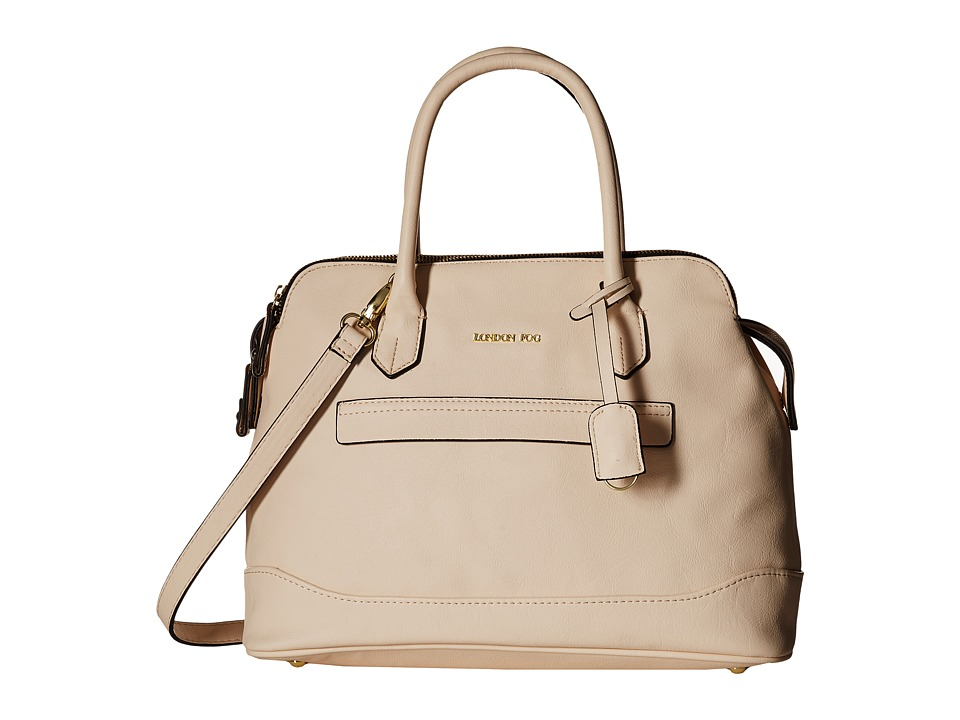 London Fog - Preston Triple (Ivory) Handbags